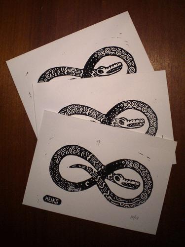 Serpent Print Giveaway