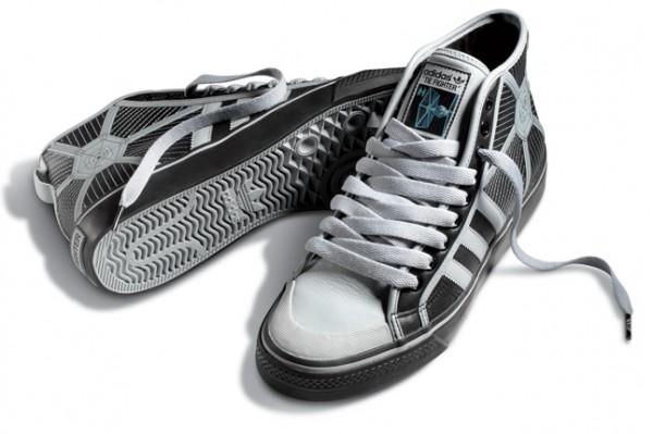 tie fighter hi tops (c)adidas