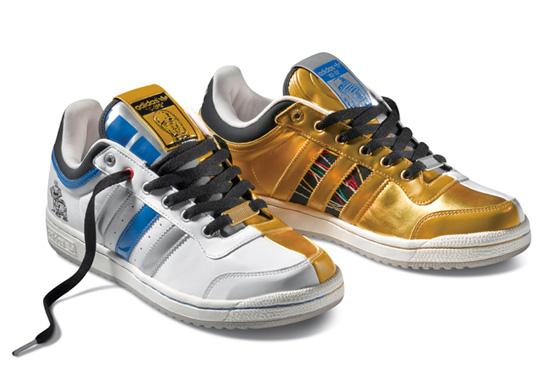 r2d2 c3po sneakers (c)adidas
